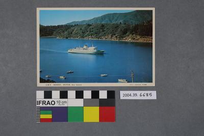 Postcard: G.M.V. Aranui, Picton
