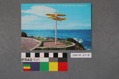 Postcard: Bluff
