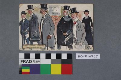 Postcard of a comic