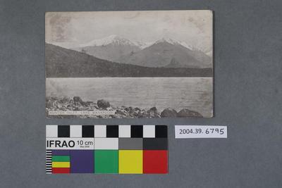 Postcard: Hunter Inlet, Lake Manapouri