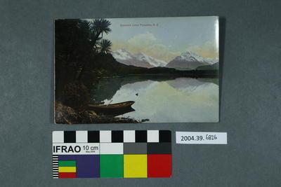 Postcard: Diamond Lake Paradise, N.Z.