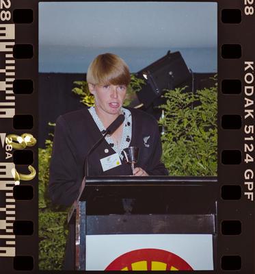Negative: NZ Cricket Shell Award Presentation