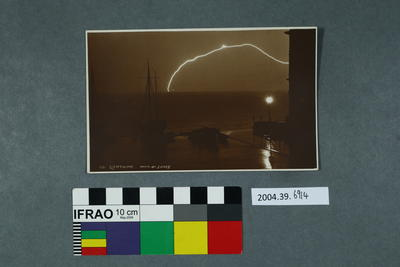 Postcard: Lightning