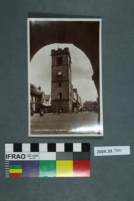 Postcard: Clock Tower, St Albans