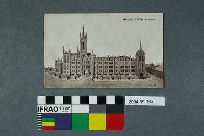 Postcard: Marischal College, Aberdeen