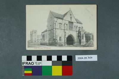 Postcard: Gate House, Worksop