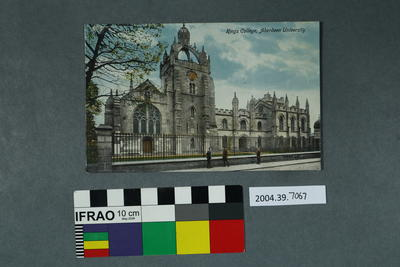 Postcard: Kings College, Aberdeen University