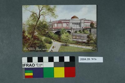 Postcard: War Memorial And Union Terrace Gardens, Aberdeen