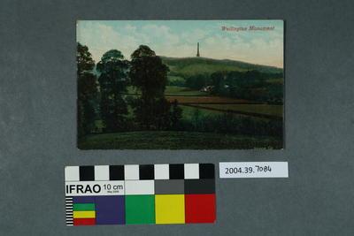 Postcard: Wellington Monument