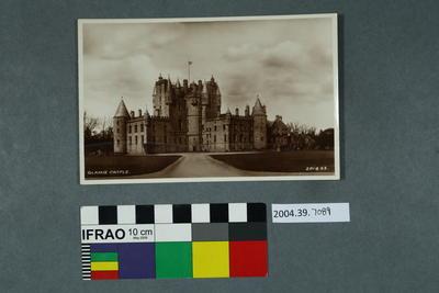 Postcard: Glamis Castle