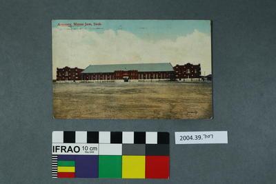 Postcard: Armoury, Moose Jaw, Sask