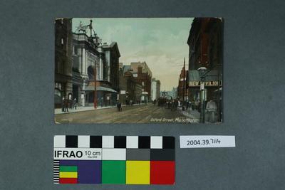 Postcard: Oxford Street, Manchester