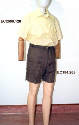 Walking Shorts; Mid 1960s; 1984.70.10