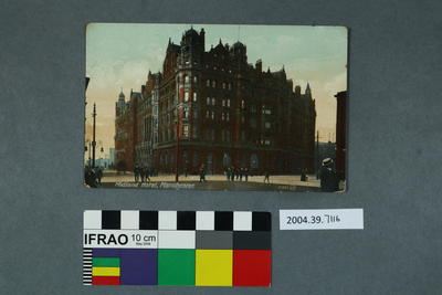 Postcard: Midland Hotel, Manchester