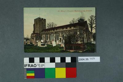 Postcard: St. Mary's Church, Burnham-on-Crouch