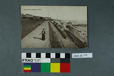 Postcard: West Cliff, Clacton-on-Sea