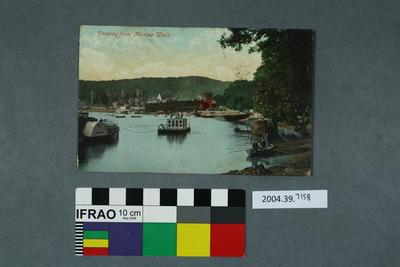 Postcard: Conway from Marine Walk