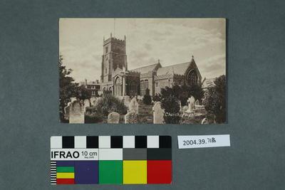 Postcard: Church, Paignton