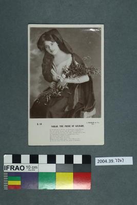 Postcard: Norah, The Pride of Kildare; 02 Jan 1907; 2004.39.7247