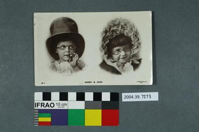 Postcard: Darby & Joan