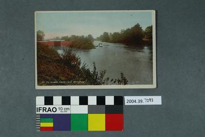 Postcard: On The Severn, Camp Lock, Worcester