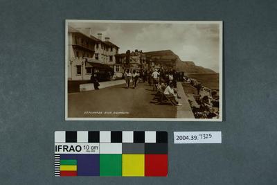 Postcard: Esplanade East, Sidmouth