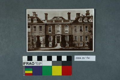 Postcard: The College