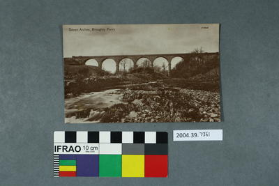 Postcard: Seven Arches, Broughty Ferry