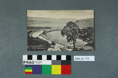 Postcard: Caledonian Canal from Tomnahurich
