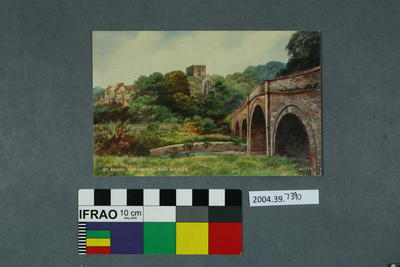 Postcard: St Asaph Cathedral And Bridge