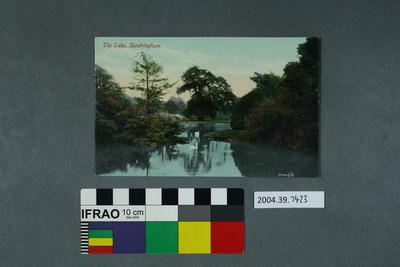 Postcard: The Lake, Sandringham