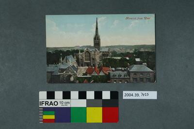 Postcard: Norwich from West