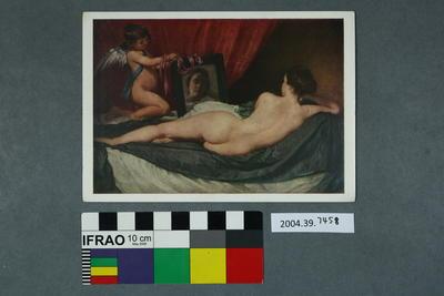 Postcard of Velazquez: The Toilet of Venus