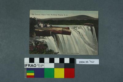 Postcard: The Famous Wairu Falls Northern Wairoa NZ