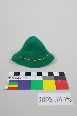 Green Felt Hat: Marionette