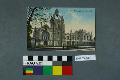 Postcard: Kings College