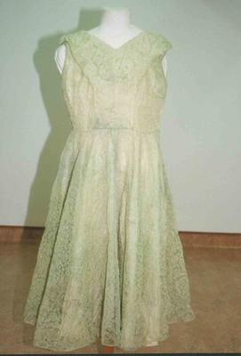 Dress, Evening, Ballerina Length.