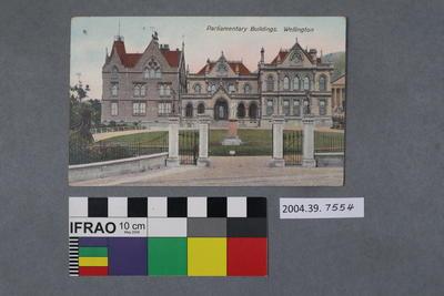 Postcard: Parliamentary Building