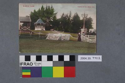 Postcard: Marton Park