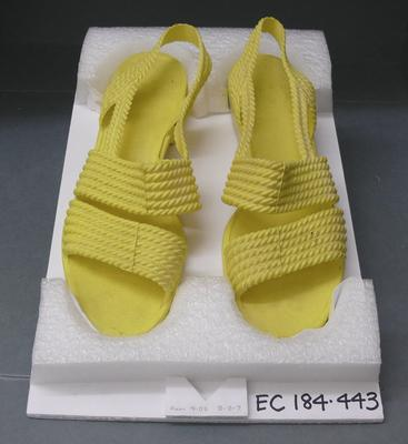 Pair of women's sandals