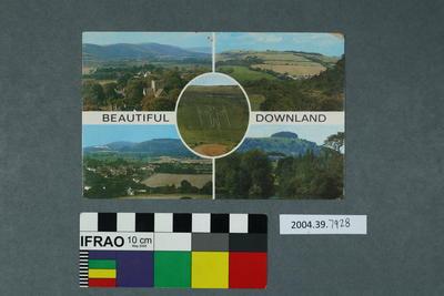 Postcard: Beautiful Downland