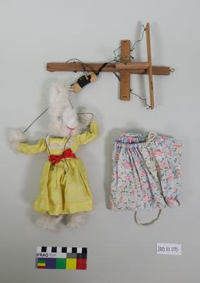Marionette: White female rabbit