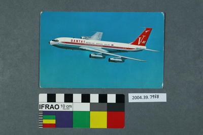Postcard: Aeroplane