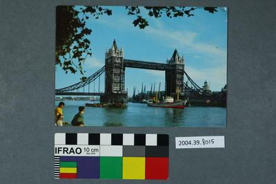 Postcard: Tower bridge
