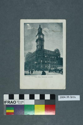 Postcard: Post Office