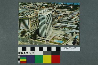 Postcard: Tall building