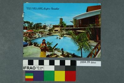Postcard: Tiki Village