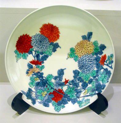 "Plate: ""Island of Coloured Pots"""