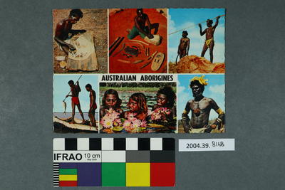 Postcard: Australian Aborigines