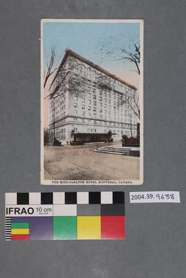 Postcard: The Ritz-Carlton Hotel